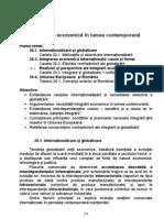 CAPITOLUL 20 Integrarea Economică în Lumea Contemporană