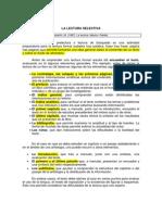 La Lectura Selectiva, Serafini M.