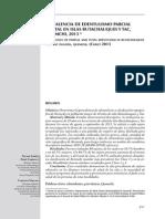 Articulo Internacional - Prevalencia de Edentulismo Parcial y Total