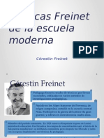 Técnicas Freinet de La Escuela Moderna