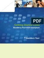 BlackBerry Pearl 8130 Getting Started Guide