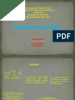 Láminas Power Point - Medicina Legal - Temas 3-4-5 y 7 Dulcemar Jose Vicente