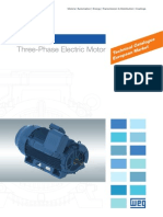 Weg w50 Three Phase Electric Motor Technical Catalogue European Market 50044032 Brochure English 140418135057 Phpapp02