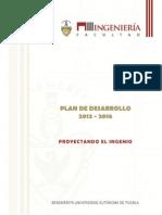 Plan de Desarrollo Ingeniería BUAP 2012 - 2016