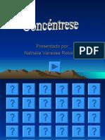 CONCENTRESE- Nathalia Vanessa Rebellón- 9ºPensadores.pps