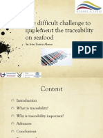 Traceability Seafood