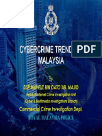 Cybercrime Trends in Malaysia