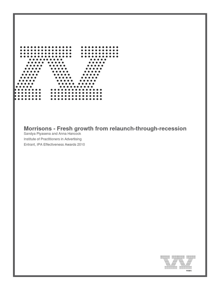 Morrisons Fresh Growth From Relaunchthroughrecession | Supermarket ...