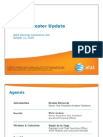 AT&T 3Q 2009 Earnings Call Slides
