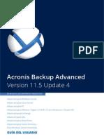 AcronisBackupAdvanced 11.5 Userguide Es-ES