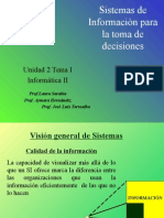 Clasificación Sistemas de Informacion