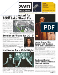 February 2015 Uptown Neighborhood News