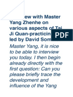 Yang Zhenhe - Tai Ji Quan