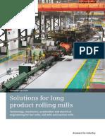 Solutions Long Product Rollling Mills En