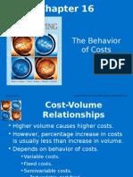 Chap 016 Man Acc Behavior of Costs