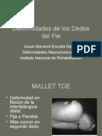 Deformidades de los Dedos del Pie.pps