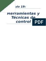 Capítulo 19 Herramientas de Control