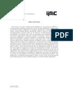 IJM2C - Vol 4, No 3, SN 15