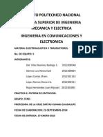 Práctica No. 2 y 3 Patrón de Captación y Sensibilidad Del Micrófono