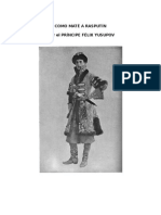 Yusupov Felix - Como Mate a Rasputin