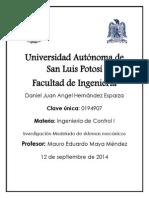 Investigacion Modelado de Sistemas Mecanicos