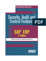 Security Audit and Control Features SAP ERP 3rd Edition Icq Eng 1109