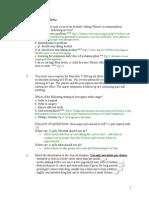 OD Quiz # 3 - 2009