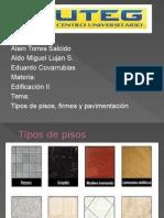Tipos de pisos, firmes y pavimentación.pptx
