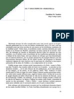 """Problema social y Krausismo en """"Marianela"""" -Scalon, Geraldine M."""