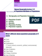 Introduction to Population Geography