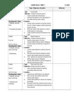 Contoh Complete Lesson Plan/RPH Bahasa Inggeris Form 1,2,3