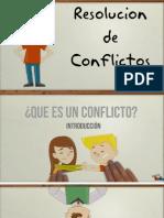 Resolucion de Conflictos.