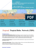 """""""Establishment of international collaborating research network for open innovation -Tropical Delta Network (TDN)"""""""