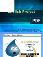 English Project by Garima Gill