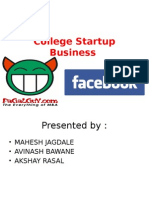 College Startup Business