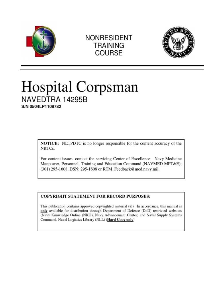 Navedtra 14295a hospital corpsman manual manual navedtra 14295a array navedtra 14295b al qaeda international politics rh scribd fandeluxe Images