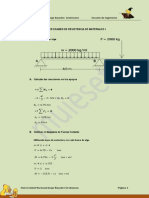 06 Examen de Resistencia de Materiales I