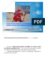 Studii Privind Impactul Activităților de Crăciun Asupra Dezvoltării Personalității Elevilor