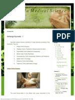 Ayurveda Medical Science _ Ashtanga Ayurveda - 1