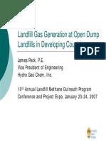 MCF Managed Landfill