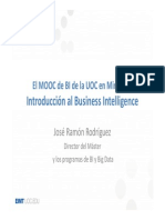 MOOC Business Intelligence