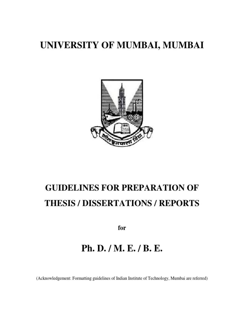 thesis surgical oncology mumbai university