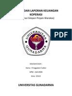 Bagan Dan Laporan Keuangan Koperasi Warakas
