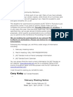 2014 02 1 Meeting Notice