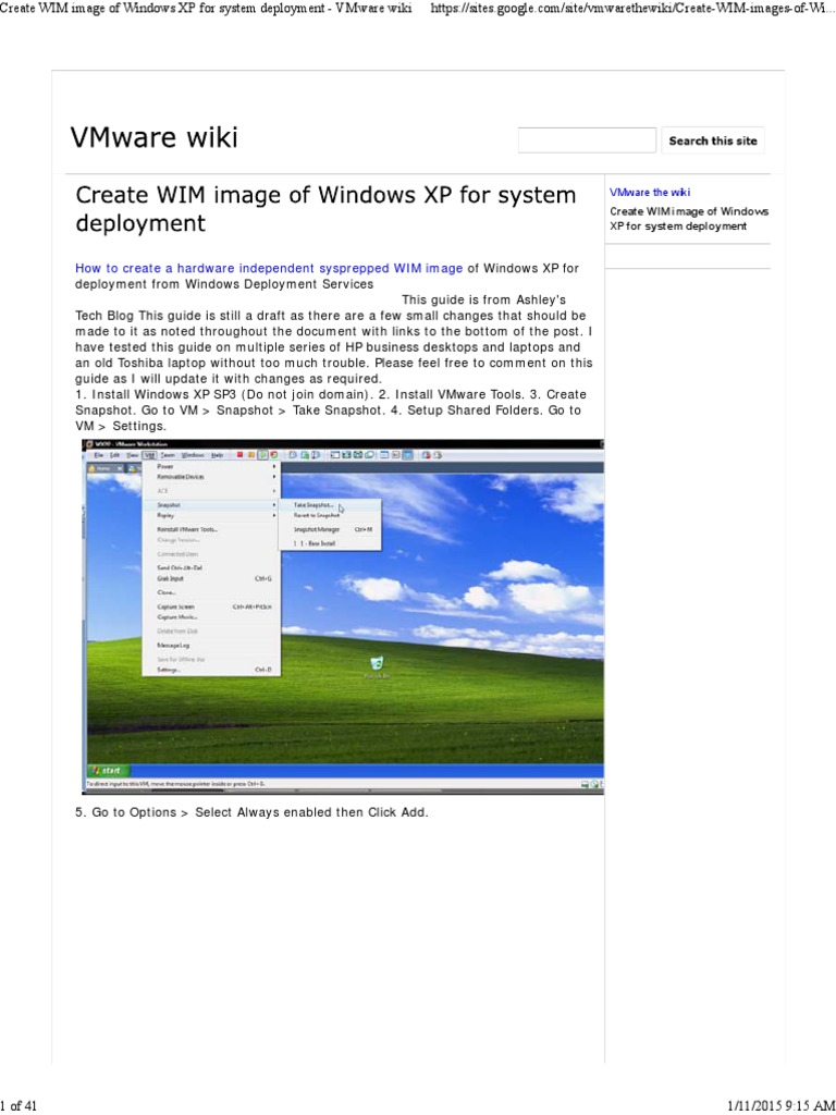 Windows xp sp2 vmware image download
