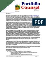 Portfolio Counsel