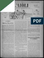 L'Aiòli. - Annado 06, n°189 (Mars 1896)
