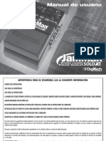 JamMan Solo XT Manual Spanish Original