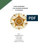 Analisa Laporan Keuangan PT Ultra Jaya