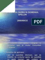 Directiva Cadru in Domeniul Apelor 2000_60_CE
